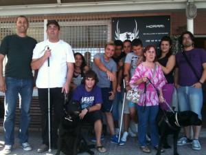 Usuarios de perro guía en Proyecto Nous Amics