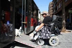 Los perros de asistencia podrán ir en autobús